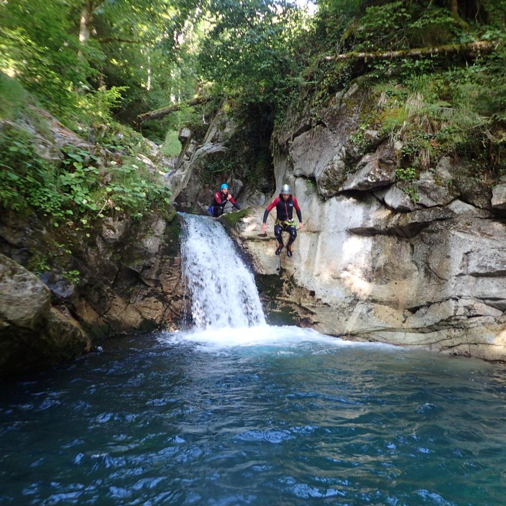 Canyon Bitet (Pyrénées Atlantiques)