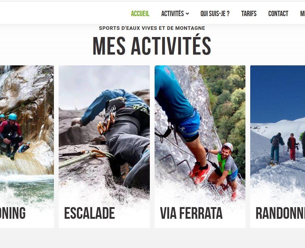 Escarando, canyoning, escalade, via-ferrata et randonnée