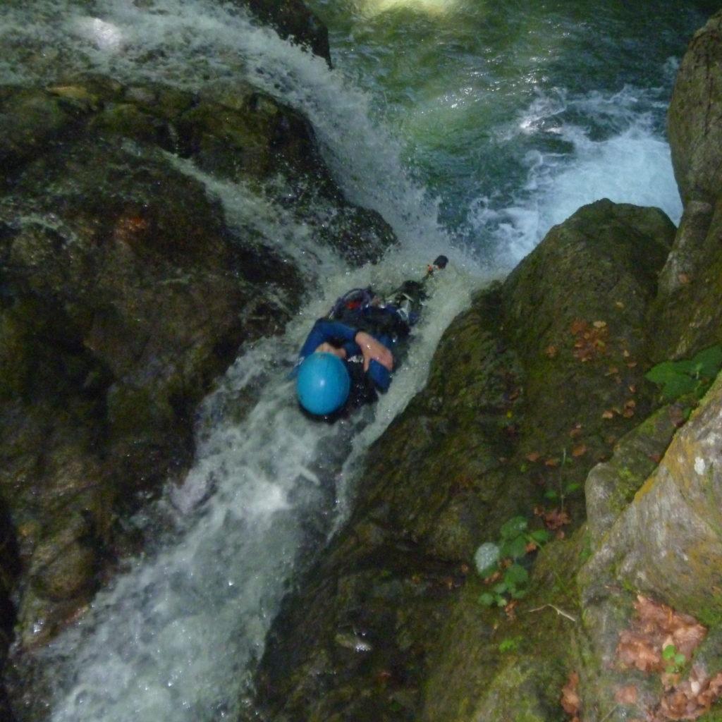 Canyon de Bious dans les Pyrénées
