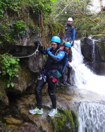 Canyoning de Bious-Artigues dans les Pyrénées
