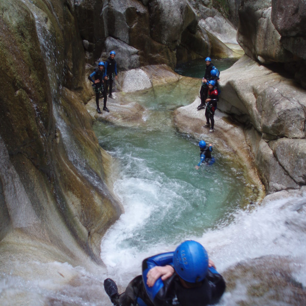 Canyon Soussouéou Pyrénées