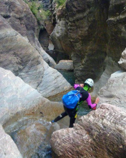 Canyon du Gorgol en Espagne