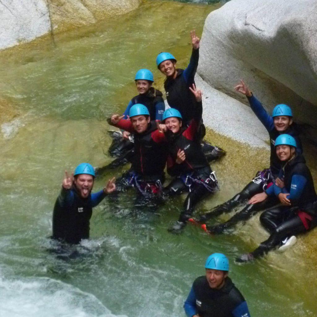 canyoning soussoueou 1h de Pau