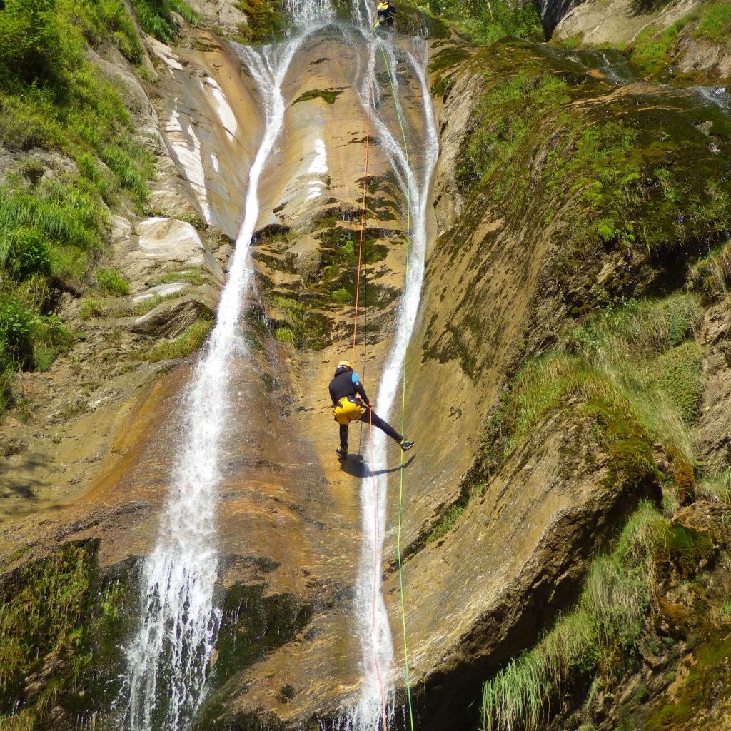 Canyoning à Gourette dans les Pyrénées
