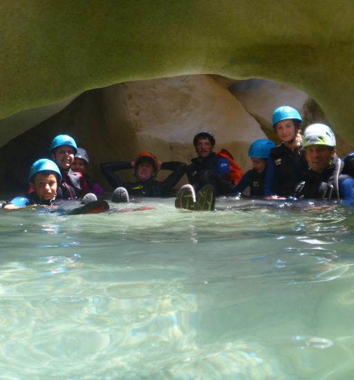 Famille canyon Sierra de Guara