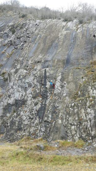 géologue sur le secteur B