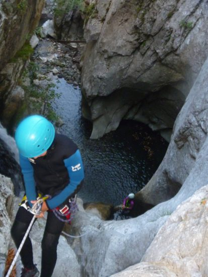 canyon du brousset vallée d'Ossau